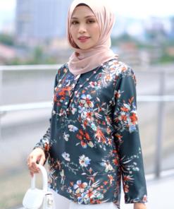 nursing friendly blouse